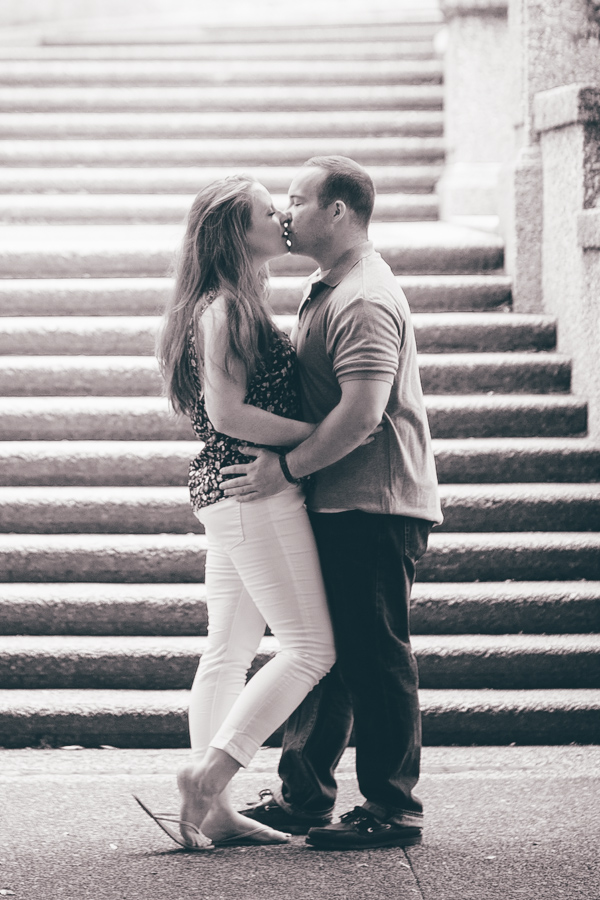 Kirsten + Ben Engagement | Meridian Hill Park  | Washington, DC | © Carly Arnwine Photography
