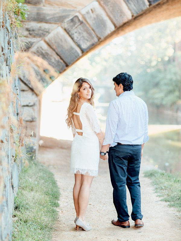Michelle + Hector | Georgetown Engagement | Washington DC Engagement | © Carly Arnwine Photography