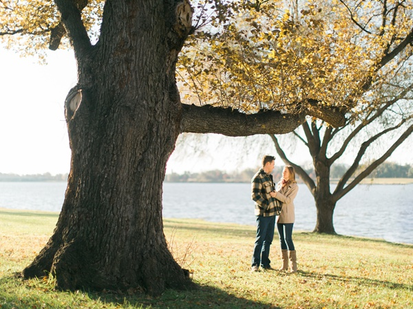 Katie + Alex | The Lincoln Memorial Engagement | Washington DC | © Carly Arnwine Photography