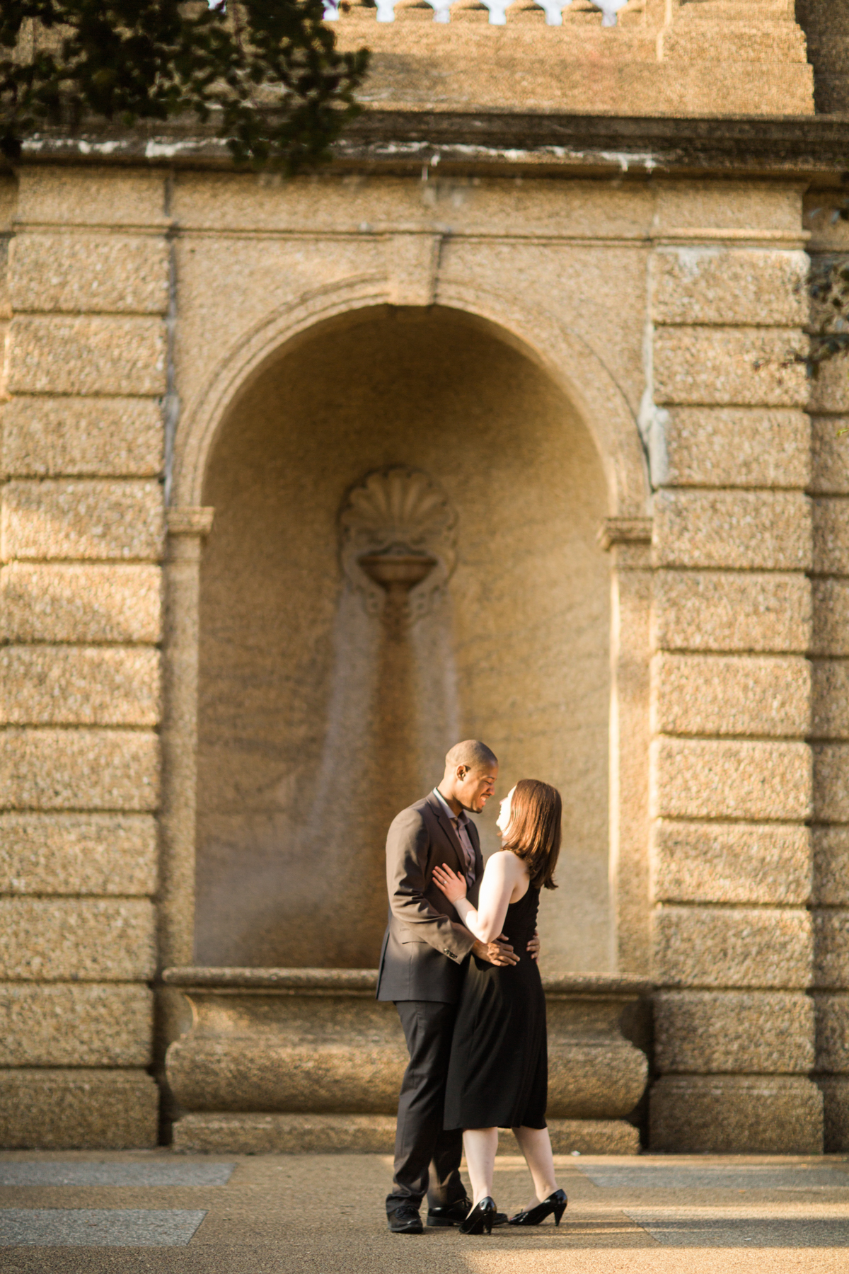 A Scavenger Hunt Proposal | Meridian Hill Park | Washington, DC Engagement | © Carly Arnwine Photography