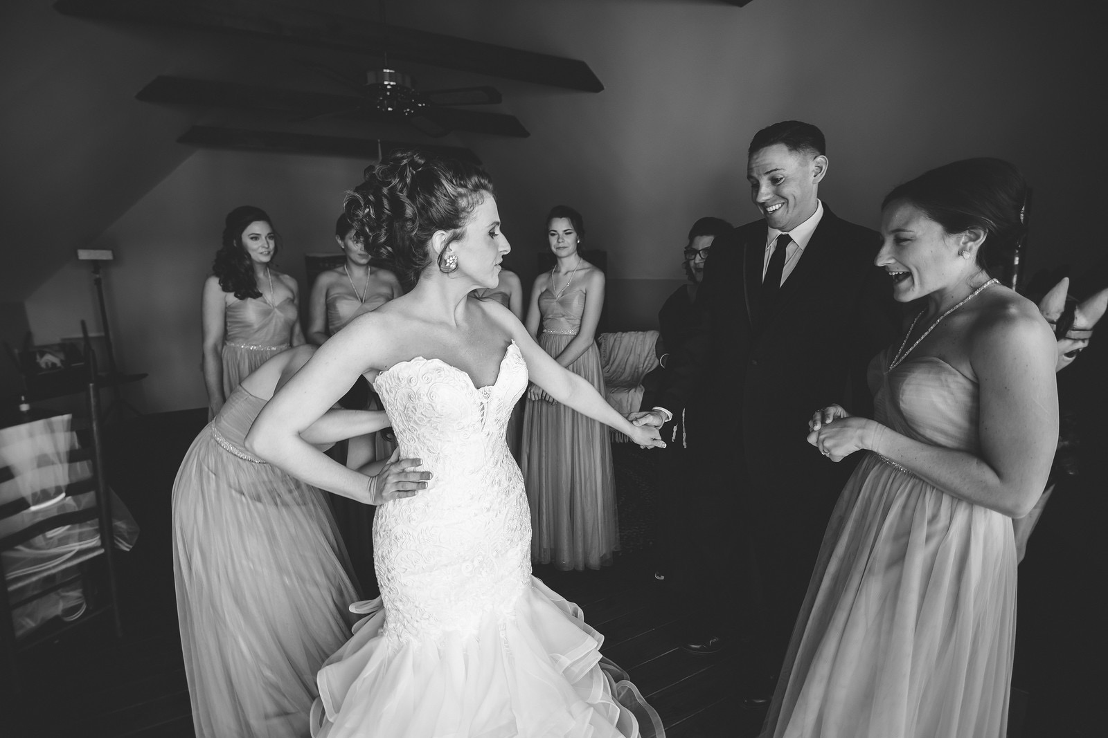 Becki + Brian McCraw Wedding | Carly Arnwine Photography